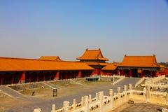 Peking Verboden Stad Royalty-vrije Stock Foto