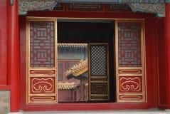 Peking, Verboden Stad royalty-vrije stock afbeelding