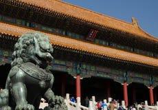 Peking Verboden Stad stock foto's