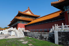 Peking verbotene Stadt Lizenzfreie Stockfotografie
