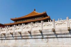 Peking verbotene Stadt Lizenzfreies Stockfoto
