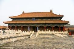 Peking: Verbotene Stadt Stockbild