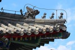 Peking verbotener Stadtpalast Stockfotografie