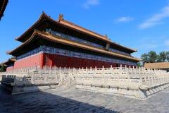 Peking verbotener Stadtpalast Stockbild