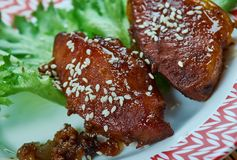 Peking wieprzowiny kotleciki fotografia royalty free