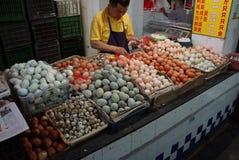 Pekinggatamarknad Fotografering för Bildbyråer