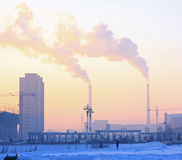 Pekingluftförorening Royaltyfria Foton