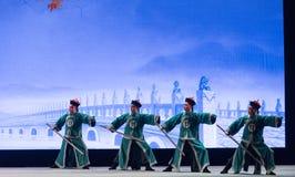 "PekingLugou Bro-Shanxi Operatic""Fu Shan till Beijing† Royaltyfri Foto"