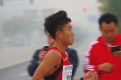 Pekingmaraton 2014 Royaltyfri Foto