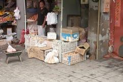 Pekingmarknad Royaltyfria Bilder