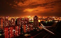 Pekings Nachtszene Lizenzfreies Stockbild