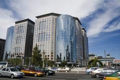 Pekings Straße Lizenzfreie Stockfotografie