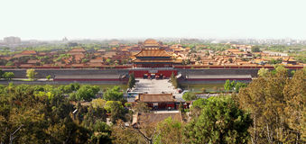 Pekings Verbotene Stadt Lizenzfreies Stockbild