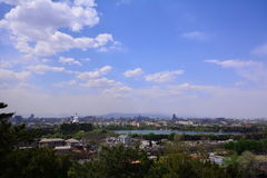 Pekingstadslandskap Arkivbilder