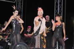 Pekkan συναυλία Ajda στοκ φωτογραφία με δικαίωμα ελεύθερης χρήσης