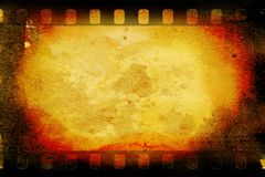 Película 2 do vintage Foto de Stock Royalty Free