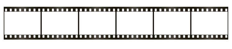 Película 35 milímetros Imagem de Stock Royalty Free