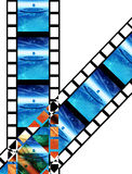 Película 9 Foto de Stock