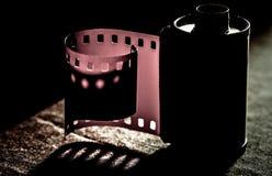 Película análoga vieja de la cámara fotos de archivo libres de regalías