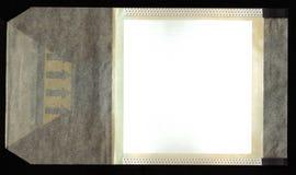 Película antigua - apenas agregue su imagen Foto de archivo libre de regalías