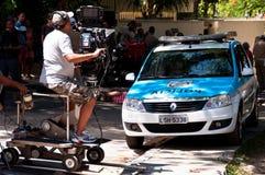 Película brasileiro do episódio da telenovela foto de stock