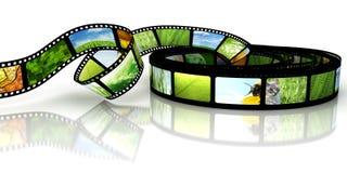 Película com imagens Imagens de Stock Royalty Free
