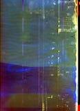 Película dañada Imágenes de archivo libres de regalías