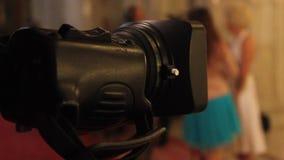 Película da câmara de vídeo video estoque