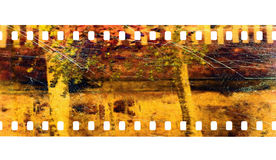 Película da câmera fotografia de stock