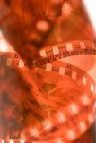 película de 35 milímetros Imagen de archivo libre de regalías