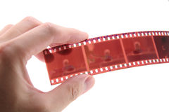 película de 35mm Imagem de Stock
