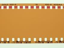 película de color en blanco del oro de Kodak en Nueva York Fotos de archivo libres de regalías