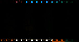 película de filme de 70 milímetros Foto de Stock Royalty Free