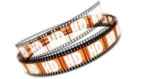 Película de HD Imágenes de archivo libres de regalías