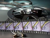 Película de la novela de suspense Imagen de archivo