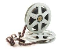 película de 35m m en dos carretes imagen de archivo libre de regalías