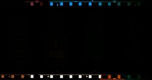 película de película de 70 milímetros Foto de archivo libre de regalías