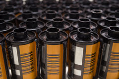 Película de rollo fotográfica 35 milímetros fotos de archivo