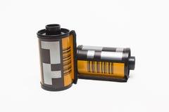 Película de rollo fotográfica 35 milímetros Foto de archivo libre de regalías
