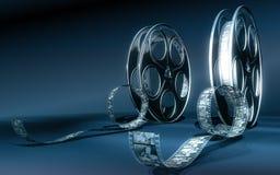 Película del cine Imagenes de archivo