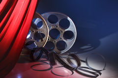 Película del cine Imágenes de archivo libres de regalías