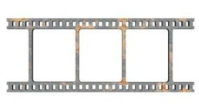 Película del hierro Foto de archivo libre de regalías