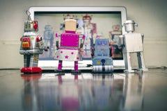Película del robot Fotografía de archivo