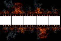 Película do incêndio ilustração royalty free