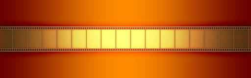 Película do vídeo do cinema Imagens de Stock