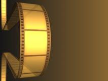 Película do vídeo do cinema Fotografia de Stock