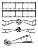 Película e carretel Imagem de Stock