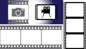 Película fotográfica Fotografia de Stock