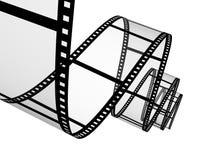 película fotográfica abstracta 3d Foto de archivo libre de regalías