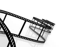 película fotográfica abstracta 3d Fotografía de archivo libre de regalías